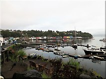 NM5054 : Tobermory Marina by Andrew Wood