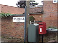 TL8628 : Lower Holt Street Postbox by Geographer