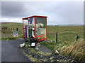 HP6309 : The Unst Bus Shelter near Baltasound by David Dixon