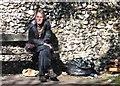 TG2307 : Homeless in Norwich by Evelyn Simak
