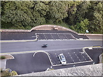 SZ0891 : Bournemouth: the Braidley Road circle has been squared by Chris Downer