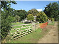 TL8998 : Slate  Plantation  and  cottage by Martin Dawes