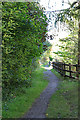 NJ2845 : Speyside Way by Anne Burgess