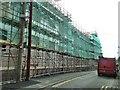 SO1091 : Severnside Yard construction site November 2015 by Penny Mayes