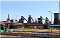 SE9110 : Appleby Frodingham Steelworks - the four Queens by Chris Allen