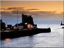 NJ9505 : Aberdeen Harbour, Marine Operations Centre by David Dixon