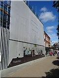 SO8554 : St Helen's under scaffolding by Philip Halling