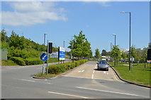 TQ6141 : Access to Pembury Hospital by N Chadwick