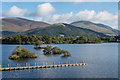 NY2522 : Derwent Water by Ian Capper