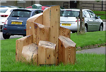 NS5565 : Honeycombs sculpture, Govan Riverside by Thomas Nugent