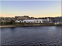 NJ9505 : Leaving Aberdeen Harbour by David Dixon