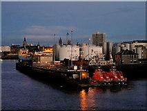 NJ9505 : Aberdeen Harbour, Tugboats at Pocra Quay by David Dixon