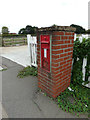 TL8526 : Coggeshall Road Victorian Postbox by Geographer