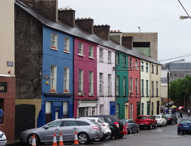 W6772 : Colourful houses by Matthew Chadwick