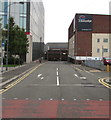 ST3088 : East along Railway Street, Newport by Jaggery