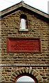 SS9398 : Ebenezer 1872 tablet, Tynewydd by Jaggery
