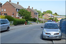 TQ5940 : Greggs Wood Rd by N Chadwick