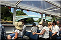 SJ4160 : Boat trip to Aldford Iron Bridge by Jeff Buck