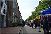 TQ5839 : Farmers' Market by N Chadwick