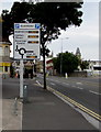 ST3261 : Car park free spaces information board, Station Road, Weston-super-Mare by Jaggery