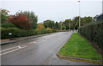 NJ3558 : Lennox Crescent, the old A96 by Richard Sutcliffe