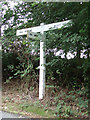 TL8424 : Signpost on Kilns Hill by Adrian Cable