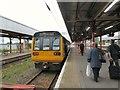 SJ8989 :  Stalybridge train at Stockport by Gerald England