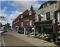 TF8108 : Shops in Swaffham by Hugh Venables
