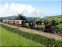 SS6846 : Lynton & Barnstaple Railway by Gareth James