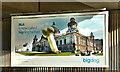 """J3474 : """"Bigdog"""" poster, Belfast (October 2018) by Albert Bridge"""