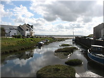 SD1678 : Haverigg Pool harbour by David Purchase