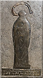 SP0202 : Memorial Brass, St John the Baptist church, Cirencester by Julian P Guffogg
