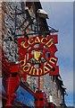 S7276 : Raths Teach Dolmain (2) - sign, 76 Tullow Street, Carlow by P L Chadwick