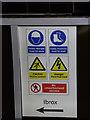 NS5664 : Sign at Cessnock subway station by Thomas Nugent