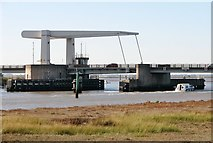 TG5108 : Breydon Bridge by Evelyn Simak