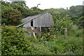 SX6739 : A derelict barn by N Chadwick