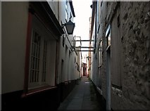 TG5207 : Great Yarmouth's Rows - Row 77 (Three Feathers Row) by Evelyn Simak
