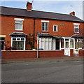 SJ0081 : West Kinmel Street brick houses, Rhyl by Jaggery