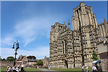 ST5545 : Wells Cathedral (1) by Chris' Buet