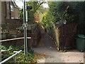 TQ5254 : Footpaths in Sevenoaks by Malc McDonald