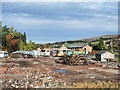 NY7843 : Site of a demolition in Nenthead by Trevor Littlewood