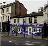 SS9079 : RSW office, Nolton Street, Bridgend town centre by Jaggery