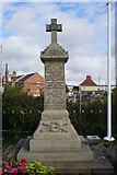 SE7811 : Crowle Wharf & Ealand War Memorial by Ian S