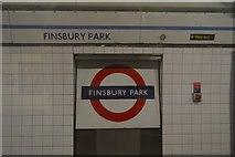 TQ3186 : Finsbury Park Underground Station by N Chadwick