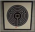 TQ2982 : Labyrinth, Euston Station by N Chadwick
