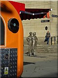 """SK3587 : View to the """"Women of Steel"""" statue by Neil Theasby"""