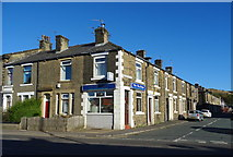 SD9311 : Fish & Chips Shop on Shaw Road, Newhey by JThomas