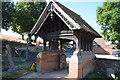 SU7784 : Lych gate, Church of St Nicholas by N Chadwick