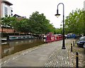 SJ8397 : Narrowboats at Castlefield by Gerald England