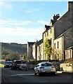 NT9304 : Village street, Harbottle by Gordon Hatton